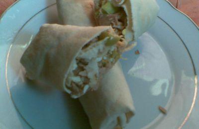 fahitas au pain syrien à ma façon