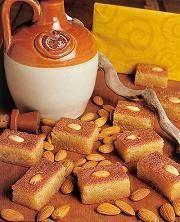 la basboussa syrienne: gâteaux au semoule sans oeufs: