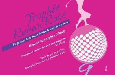 24 - Trophée RUBAN ROSE contre le cancer du sein