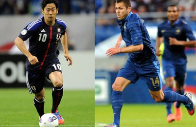 FOOTBALL : FRANCE VS JAPON!