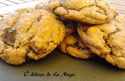 Cookies au chocolat et au Nutella