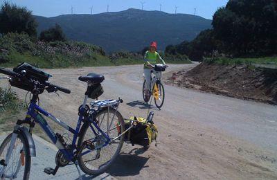 Le Cap Corse à vélo ... et à pied c'est très bien aussi !