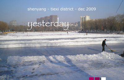 shen yang, le liaoning en hiver