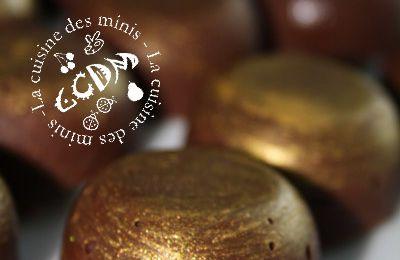 Petites bouchées croustillantes au chocolat