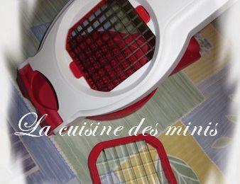 Du nouveau dans ma cuisine... (Moules frites) - Tupperware