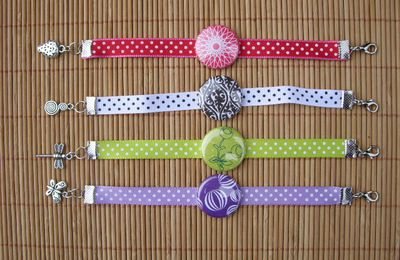 Les bracelets badges