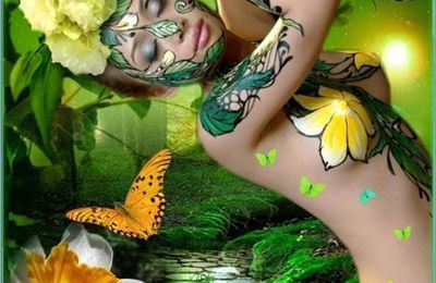 Printemps des Poètes & Muse poétique brésilienne. Primavera dos Poetas e Musa brasileira no Dia Mundial da Poesia 21 de Março