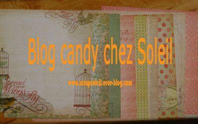 Blog Candy chez SOLEIL !!!!