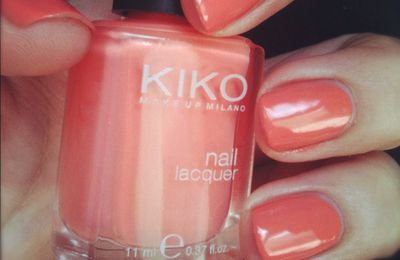 Test : Kiko 358 - Peach Rose
