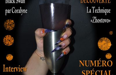 Passion Nail Art - Octobre 2012