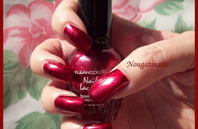 Metallic Red n° 161 - Kleancolor