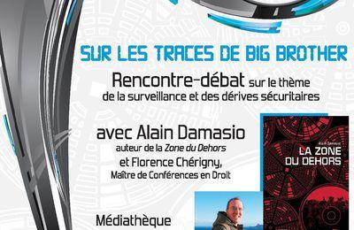 Ce jeudi soir : Rencontre-débat avec Alain Damasio et Florence Chérigny