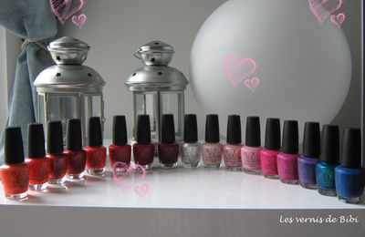 Vernis OPI, ma collection