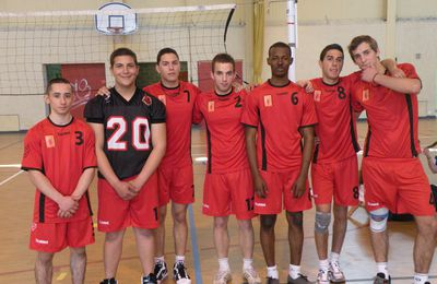 Volley-ball ... Vice Champions 84 !