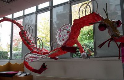 Dragon à la bibliotheque Guillotiere