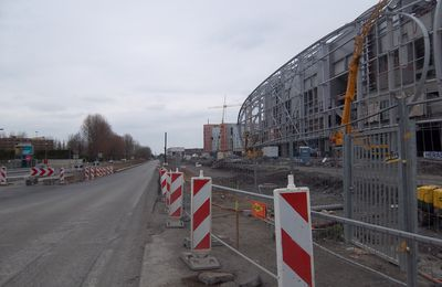 Le grand stade de Lille évolue