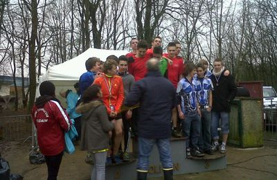 CHAMPION D'ACADEMIE DE CROSS.