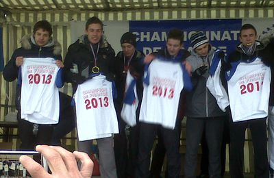 CHAMPION DE FRANCE DE CROSS UNSS