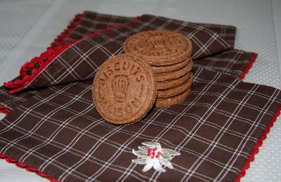 Biscuits choco noisette
