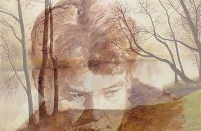 Sergueï Essenine ~ Au-dessus de la fenêtre le croissant de lune / Сергей Есунин ~ Над окошком месяц