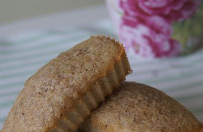 Mes financiers à la noisette