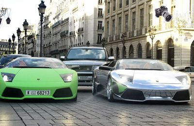 Super cars vu sur Paris .