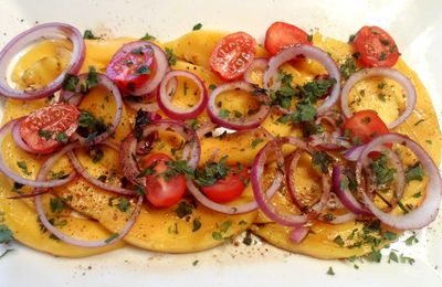 Carpaccio de mangue