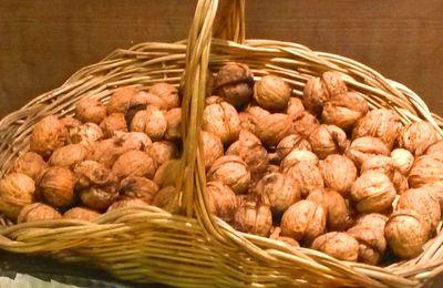 La noix : astuce pour le séchage et idée recette