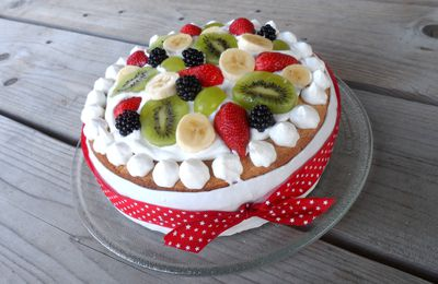 Gâteau Multifruits