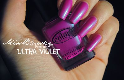 Color Club Ultra violet. Merci Cirawen