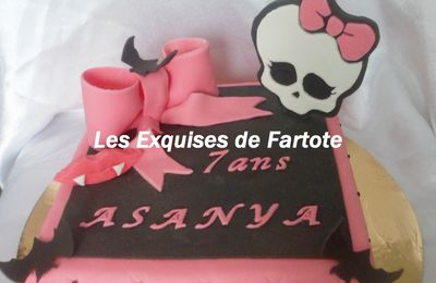Mes Gâteaux Monster High