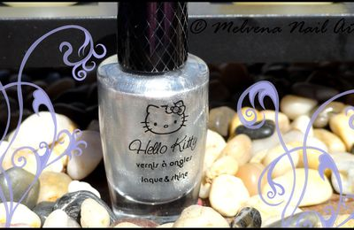 Vernis Hello Kitty Argent