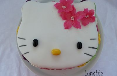 Pause Gourmande - Gateau Hello kitty