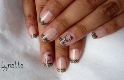 Nail art - Hello Kitty