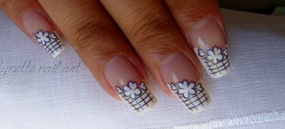 Nail art - Water decal Tartofraises