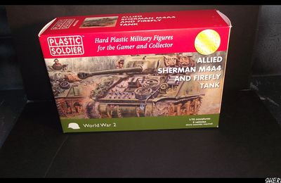 plastic soldier sherman firefly 1/72