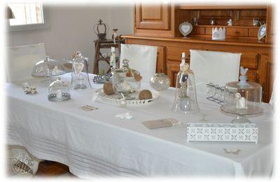"""Une table très """"déco""""... et une sublime gourmandise..."""