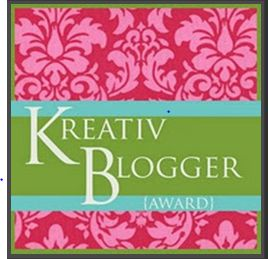 Kréativ Blogger Award !