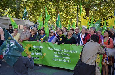 Les conseiller-e-s régionaux Europe Ecologie Les Verts mobilisé-e-s pour une transition énergétique, sans nucléaire