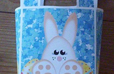 """Une boîte """"lapin"""" pour Pâques..."""