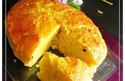 Gateau à la confiture de pastèque orange et vanille