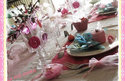 Une table SO ROSE (n°2)