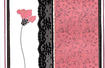 Carte 15 - Une Rose