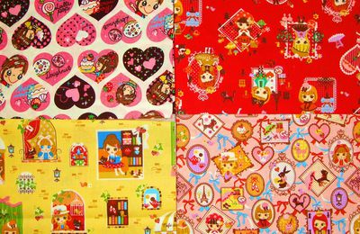 Parmi mes tissus from USA ♥ so kawaii fabrics