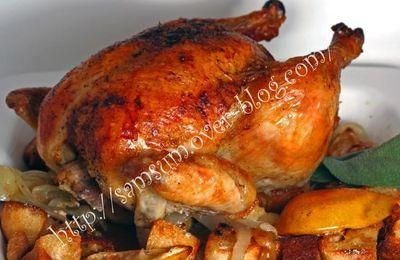 Poulet rôti moins gras et plus croustillant