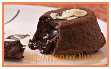 Moelleux mi-cuits chocolat / café
