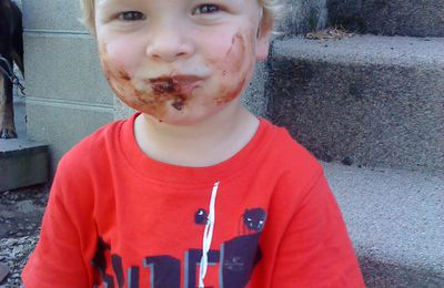 au chocolat...