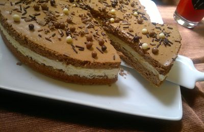 Bavarois chocolait cookies