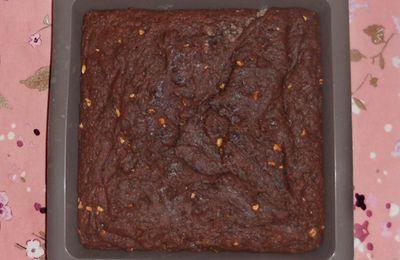 Brownies au beurre de cacahuète