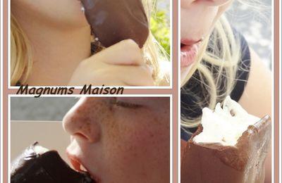 Magnums maison : Vanille chocolat